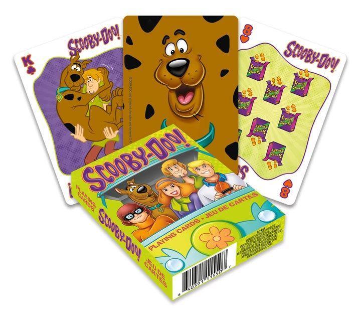 Scooby doo jeu de cartes a jouer cartoon