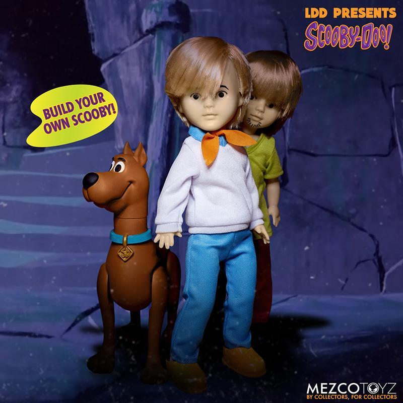 Scooby doo mistery inc pack 4 poupees suukoo toys mezco poupee ldd 3