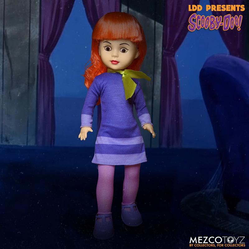 Scooby doo mistery inc pack 4 poupees suukoo toys mezco poupee ldd 4