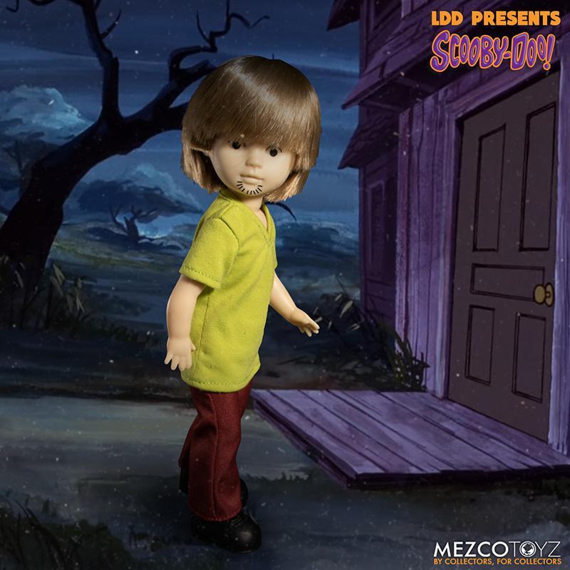 Scooby doo mistery inc pack 4 poupees suukoo toys mezco poupee ldd 7