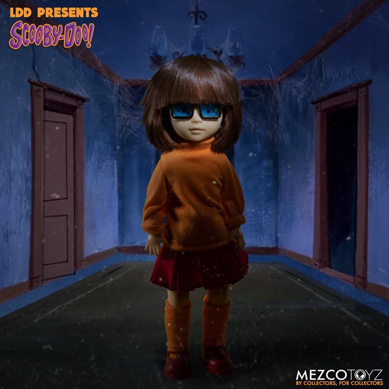 Scooby doo mistery inc pack 4 poupees suukoo toys mezco poupee ldd 8