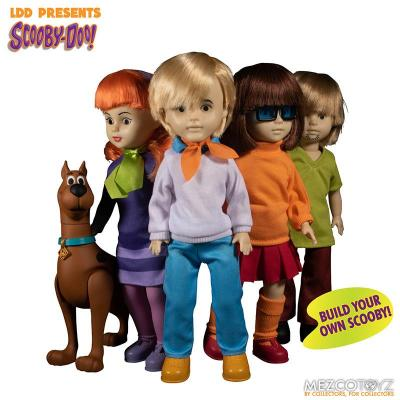 Scooby doo mistery inc pack 4 poupees suukoo toys mezco poupee ldd 9