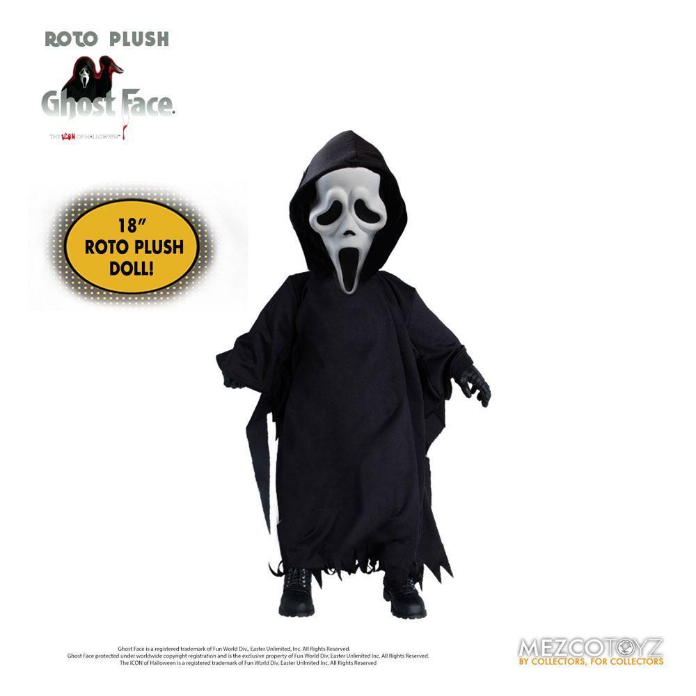 Scream poupee mds roto ghost face 46 cm mezco 1