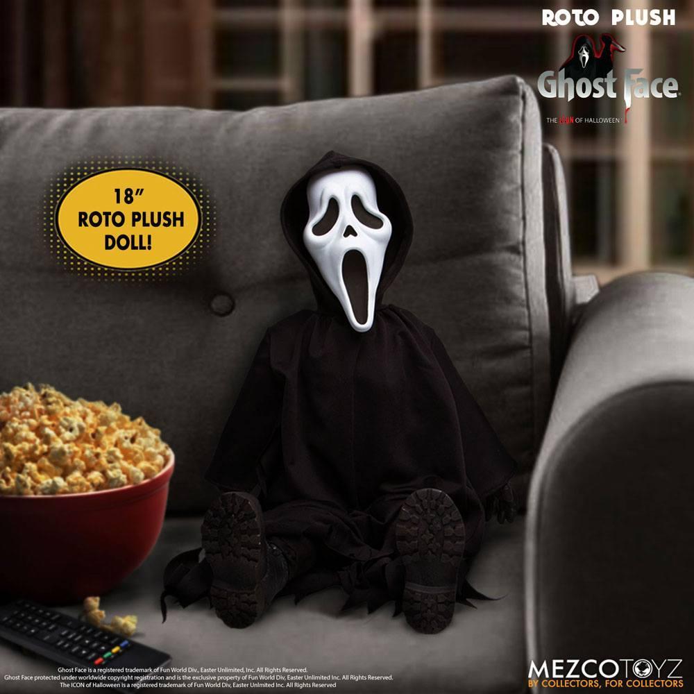 Scream poupee mds roto ghost face 46 cm mezco 2