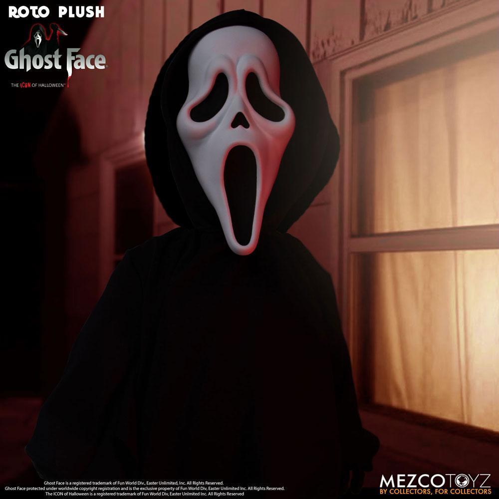 Scream poupee mds roto ghost face 46 cm mezco 3