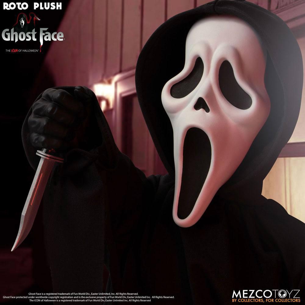 Scream poupee mds roto ghost face 46 cm mezco 4