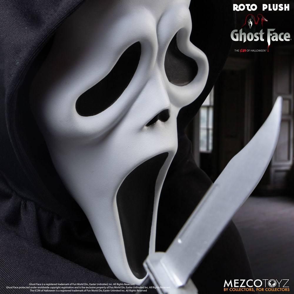 Scream poupee mds roto ghost face 46 cm mezco 6