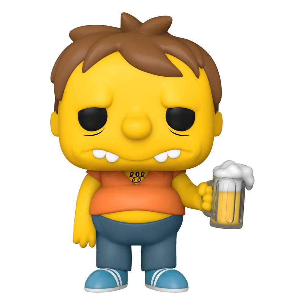 Simpsons figurine pop animation vinyl barney 9 cm