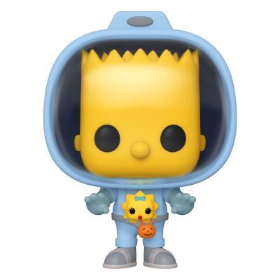 Simpsons Figurine POP! Animation Vinyl Bart w/Chestburster Maggie 9 cm