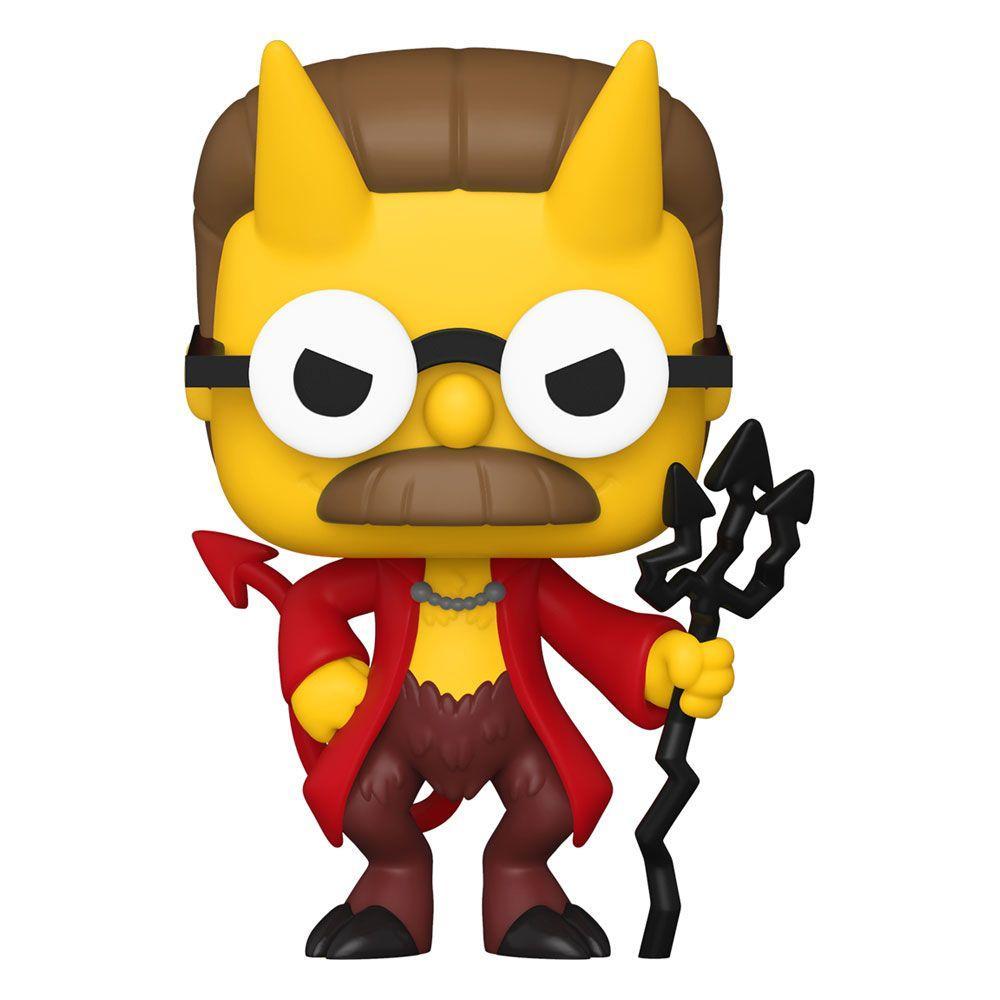 Simpsons figurine pop animation vinyl devil flanders 9 cm