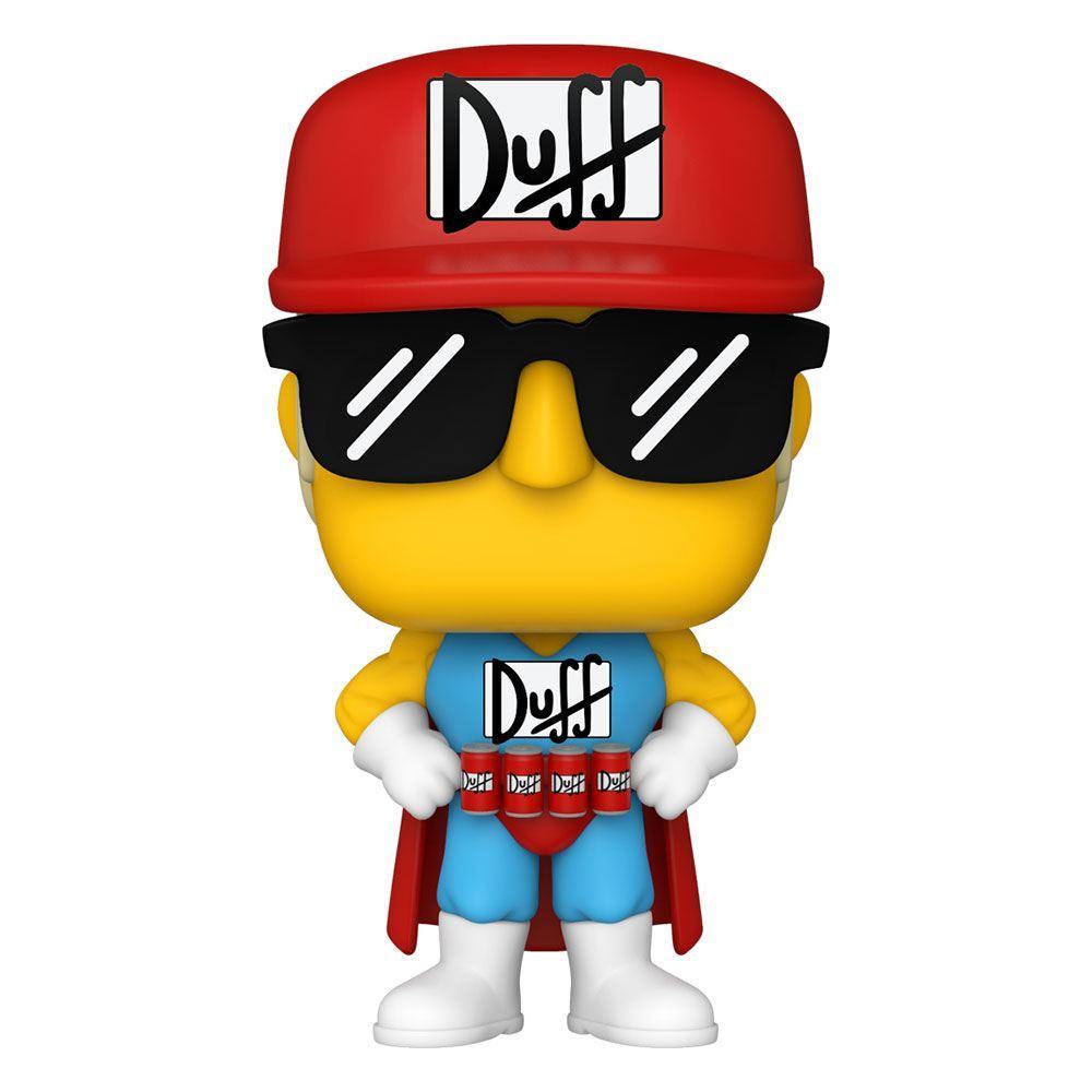 Simpsons figurine pop animation vinyl duffman 9 cm
