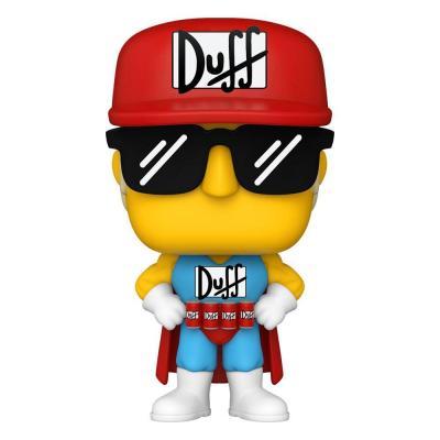 Simpsons Figurine POP! Animation Vinyl Duffman 9 cm