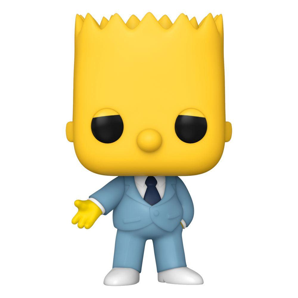 Simpsons figurine pop animation vinyl mafia bart 9 cm