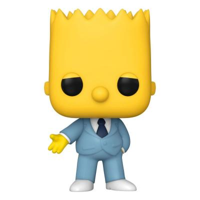 Simpsons Figurine POP! Animation Vinyl Mafia Bart 9 cm