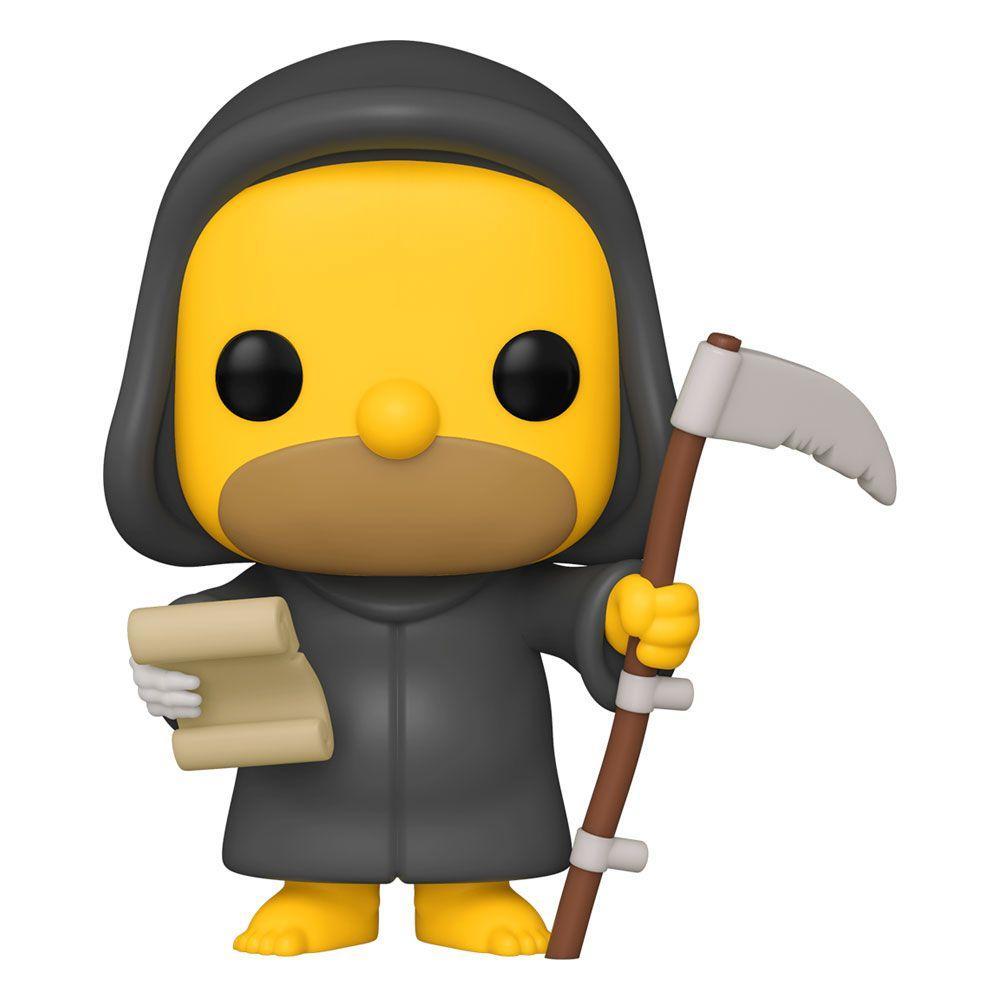 Simpsons figurine pop animation vinyl reaper homer 9 cm