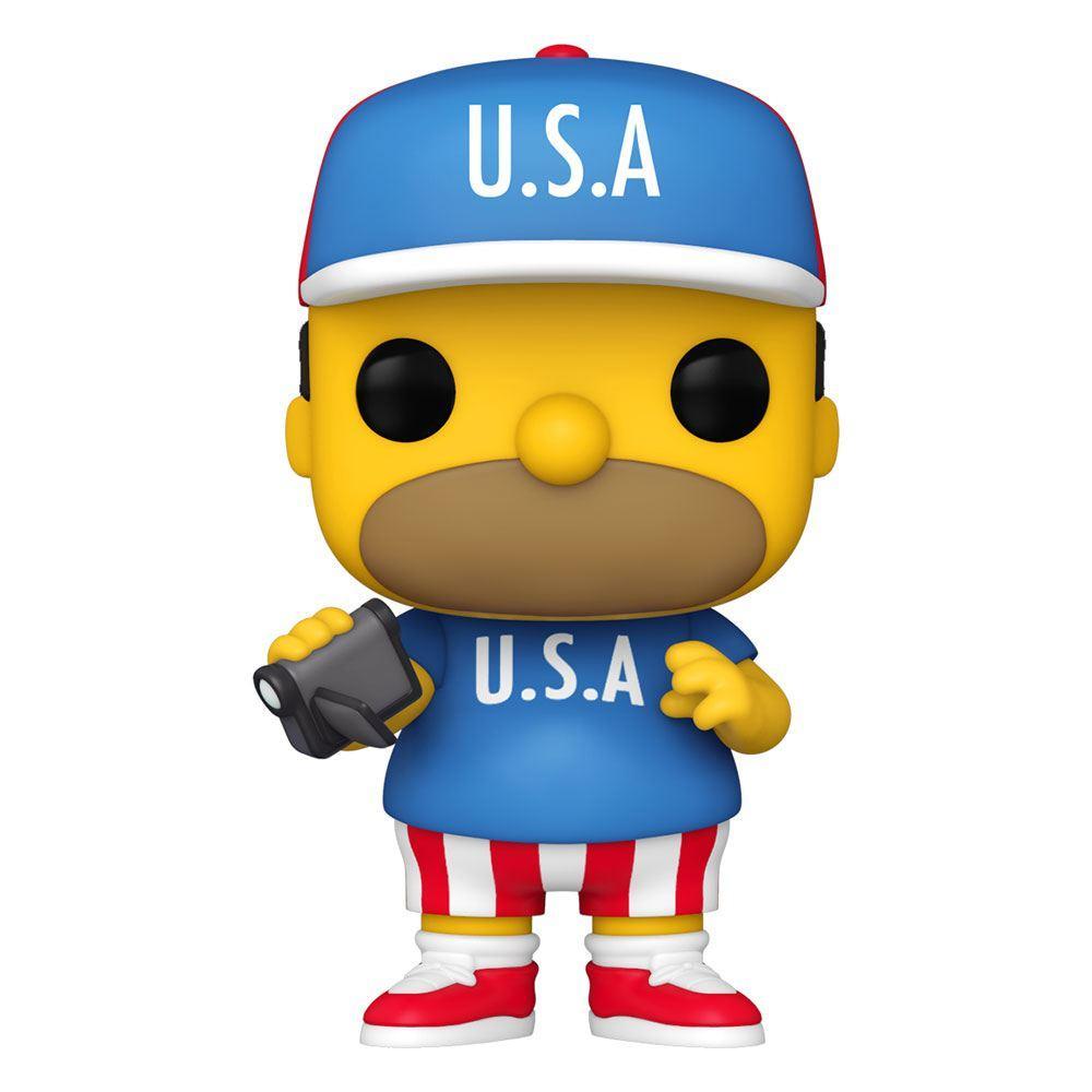 Simpsons figurine pop animation vinyl usa homer 9 cm