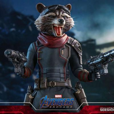 Avengers: Endgame figurine Movie Masterpiece 1/6 Rocket 16 cm