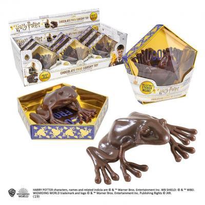 Harry Potter présentoir répliques Chocogrenouille figurine anti-stress