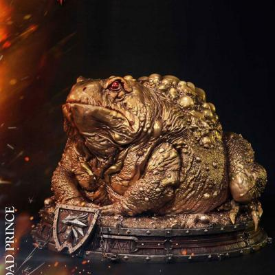 Witcher 3 Hearts of Stone statuette Toad Prince of Oxenfurt Gold Ver. 34 cm