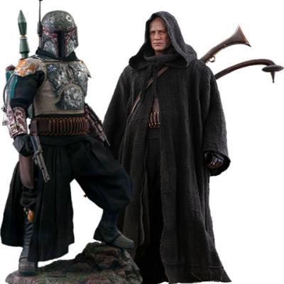 Star Wars The Mandalorian pack 2 figurines 1/6 Boba Fett Deluxe 30 cm
