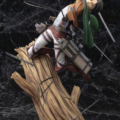 Attack on Titan statuette PVC ARTFXJ 1/8 Levi Renewal Package Ver. 28 cm