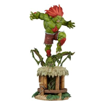 Street Fighter statuette Ultra 1/4 Blanka 68 cm