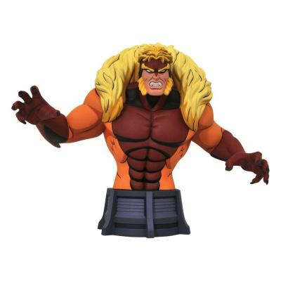Marvel X-Men Animated Series buste Sabretooth 15 cm