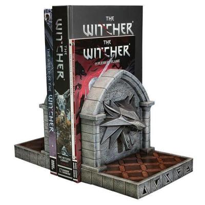 The Witcher 3: Wild Hunt serre-livres The Wolf 20 cm