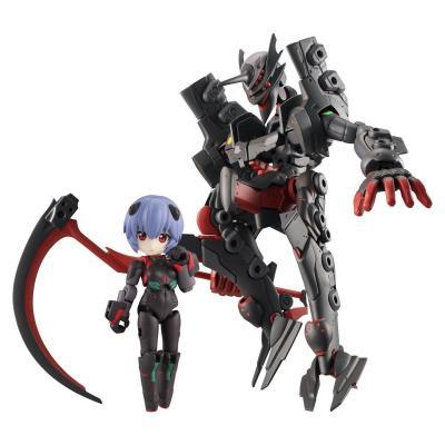 Evangelion figurines Desktop Army Ayanami Rei & Adams Unit-01 8 - 15 cm