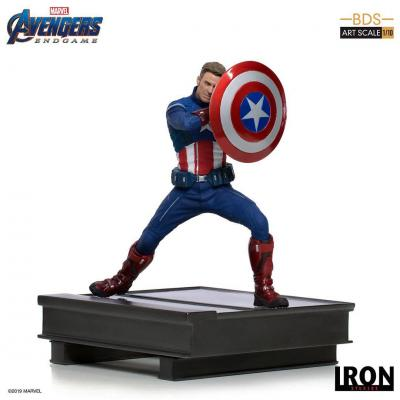 Avengers : Endgame statuette BDS Art Scale 1/10 Captain America 2023 19 cm