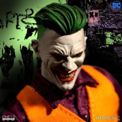 DC Comics figurine 1/12 The Joker Clown Prince of Crime Edition 17 cm