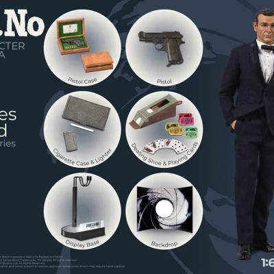 James Bond 007 contre Dr No figurine Collector Figure Series 1/6 James Bond Limited Edition 30 cm