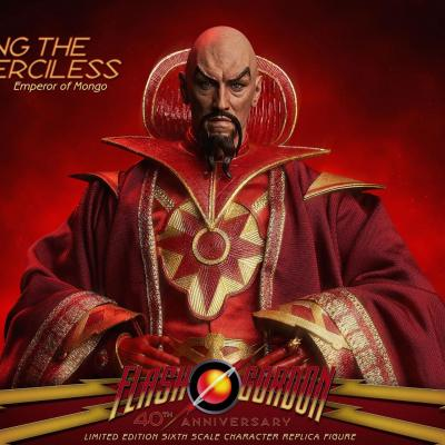 Flash Gordon figurine 1/6 Ming the Merciless Limited Edition 31 cm
