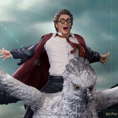 Harry Potter statuette Deluxe Art Scale 1/10 Harry Potter and Buckbeak 30 cm