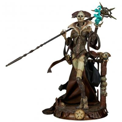 Court of the Dead statuette PVC Xiall - Osteomancers Vision 33 cm