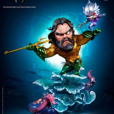 DC cartoon series statuette 1/3 Aquaman 20 cm