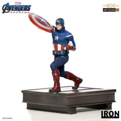 Avengers : Endgame statuette BDS Art Scale 1/10 Captain America 21 cm