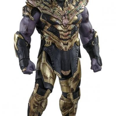 Avengers: Endgame figurine Movie Masterpiece 1/6 Thanos Battle Damaged Version 42 cm