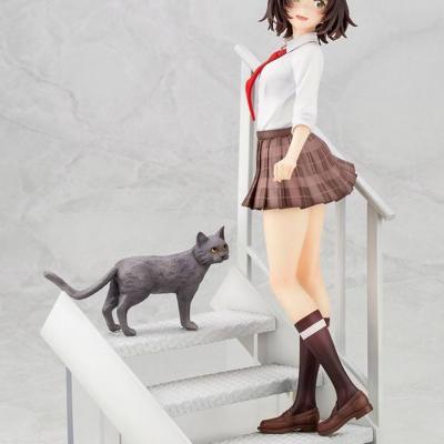 Bottom-Tier Character Tomozaki statuette PVC 1/7 Aoi Hinami Bonus Edition 24 cm