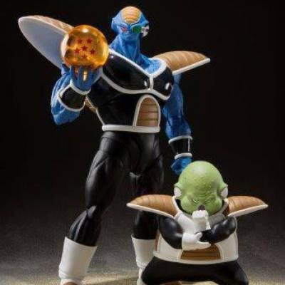 Dragon Ball Z 2 figurines S.H. Figuarts Burter & Guldo