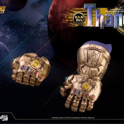 Avengers Infinity War Egg Attack figurine Thanos 23 cm