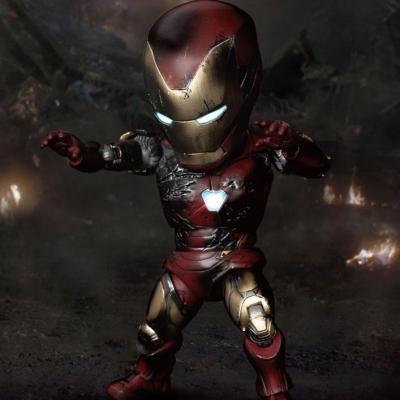 Avengers : Endgame Egg Attack figurine Iron Man Mark 85 Battle Damaged Version 16 cm
