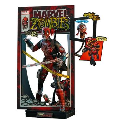 Marvel Zombies Comic Masterpiece figurine 1/6 Zombie Deadpool 31 cm