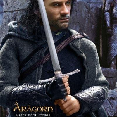 Le Seigneur des Anneaux figurine Real Master Series 1/8 Aragorn Special Version 23 cm
