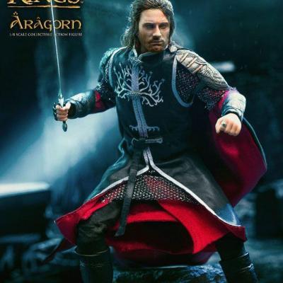 Le Seigneur des Anneaux figurine Real Master Series 1/8 Aragorn Deluxe Version 23 cm
