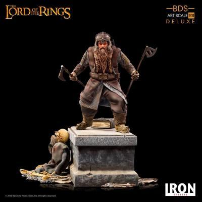 Le Seigneur des Anneaux statuette 1/10 Deluxe BDS Art Scale Gimli 21 cm