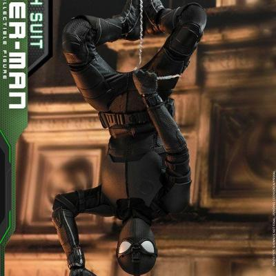 Spider-Man : Far From Home figurine Movie Masterpiece 1/6 Spider-Man (Stealth Suit) 29 cm