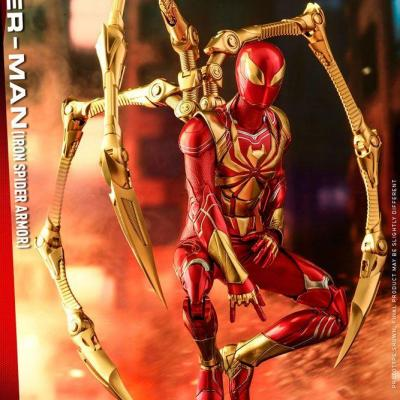 Marvel's Spider-Man figurine Video Game Masterpiece 1/6 Spider-Man (Iron Spider Armor) 30 cm