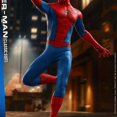 Marvel's Spider-Man figurine Video Game Masterpiece 1/6 Spider-Man (Classic Suit) 30 cm