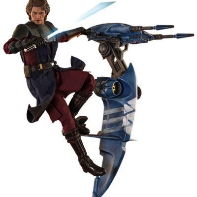 Star Wars The Clone Wars figurine 1/6 Anakin Skywalker & STAP 31 cm